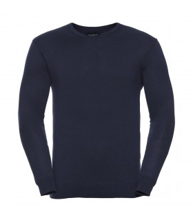 Męski sweter pulower V-Neck