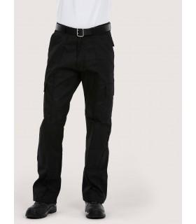 Брюки Cargo с карманами на коленях с обычными штанинами