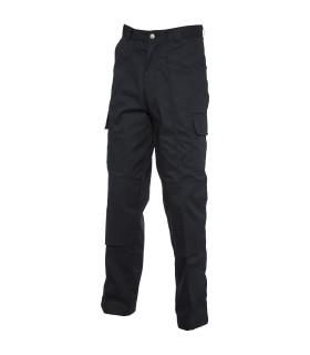 Spodnie Cargo z kieszeniami na kolanach z regularną nogawką
