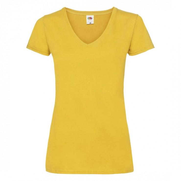 5de318f4362f48 Koszulka Lady-Fit Valueweight V-Neck | 61398